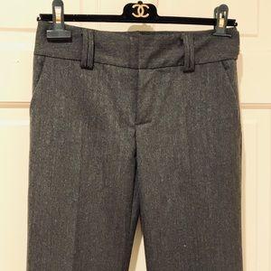 NWOT Zara Herringbone Cuffed Pants Size 34 US 2